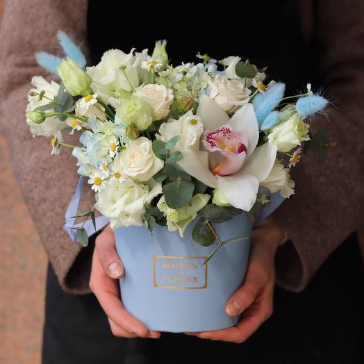 """Цветочная композиция """"Зимний сад"""": букеты цветов на заказ Flowwow"""