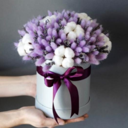 Композиция сухоцветы: букеты цветов на заказ Flowwow
