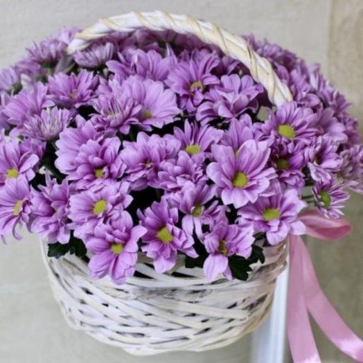 Корзина цветов Мелодия