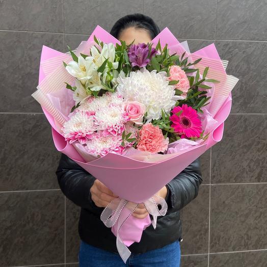 Розовый фламинго💕🌸