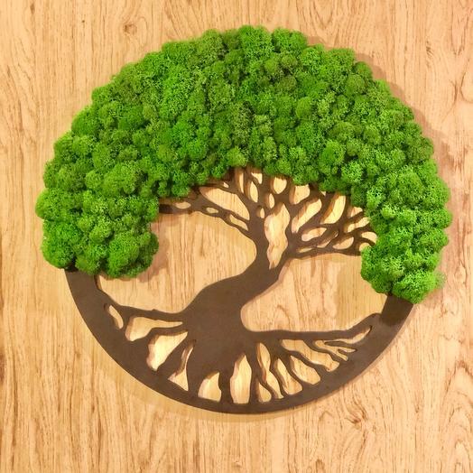 Дерево из Мха 40 см