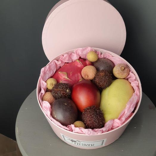 """Коробка с экзотическими фруктами """"ECO-BOX 62"""""""