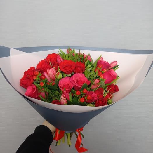 """""""Все цветы для тебя"""" Розы"""