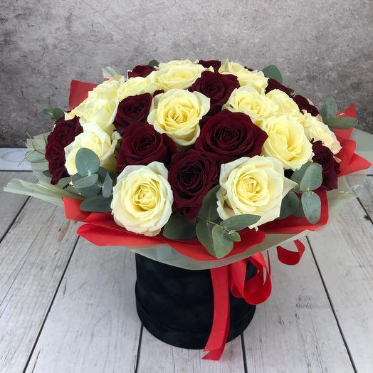 Коробка -ваза «43 розы»