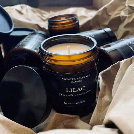 Ароматическая свеча LILAC
