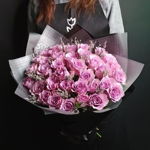 Роза и лаванда 35