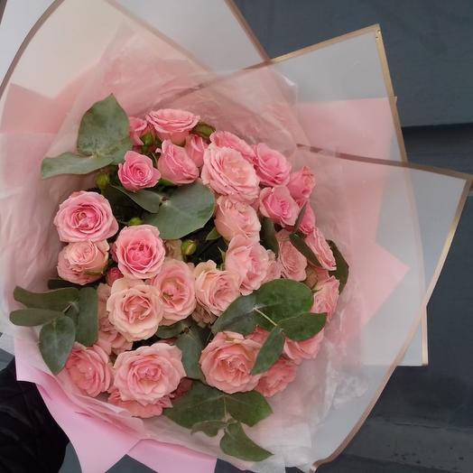 Букет кустовых роз ХL
