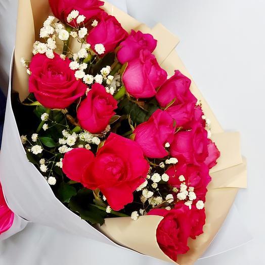 Букет роз Пурпур
