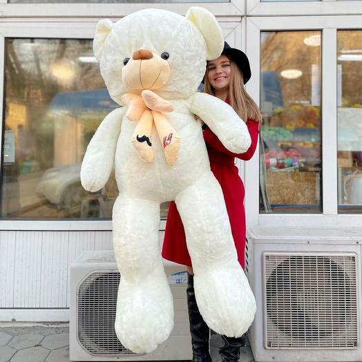 Белый мишка 180 см