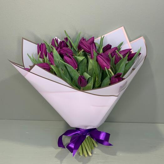 Фиолет тюльпан 25 шт