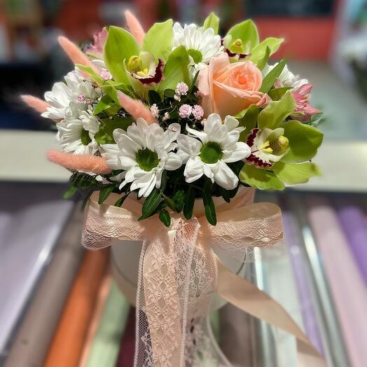 Цветы в коробке Вдохновение