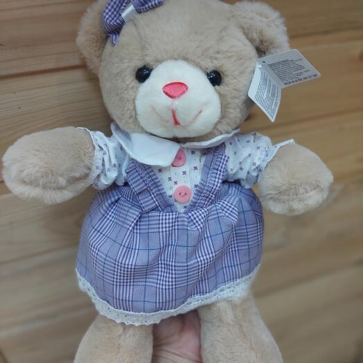 Мишка в платье