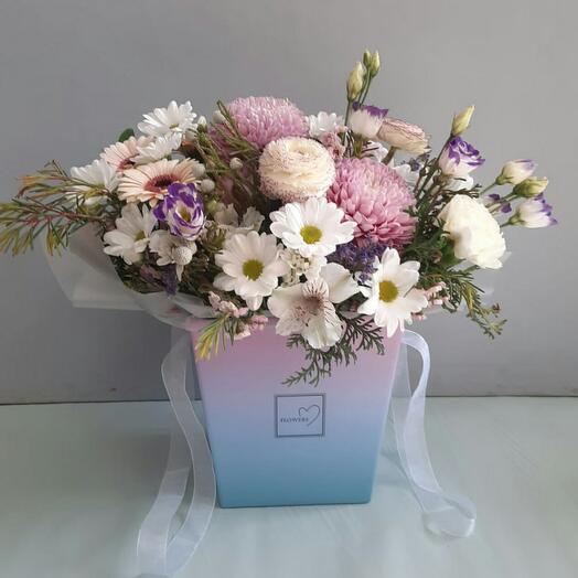 Цветы в коробкеXXXL