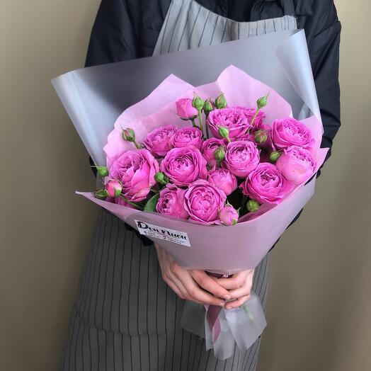 Букет из цветов «Мисти баблз»