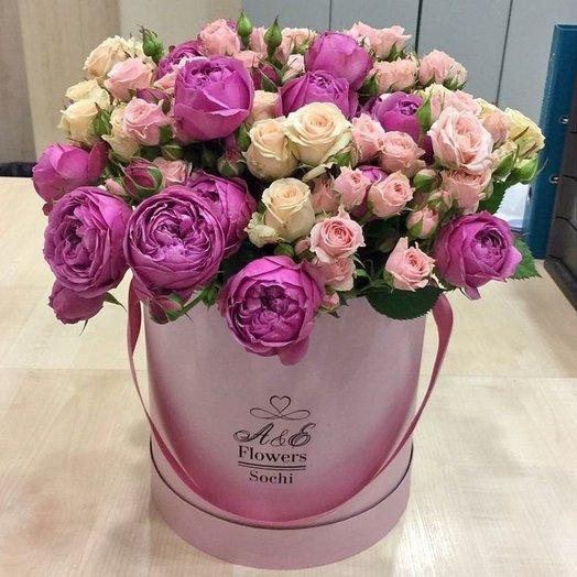 Композиция Розовая мечта: букеты цветов на заказ Flowwow