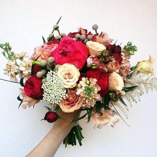 Букет Закат в пустыне: букеты цветов на заказ Flowwow