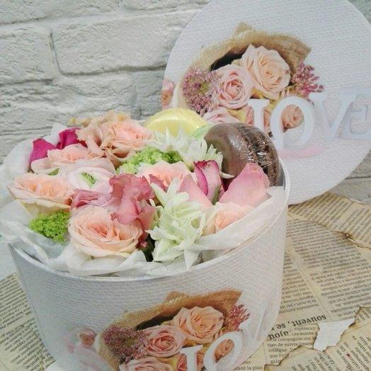 С любовью!: букеты цветов на заказ Flowwow