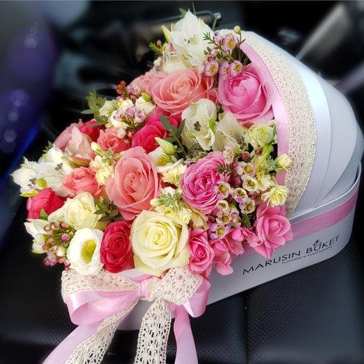Люлька на выписку XL: букеты цветов на заказ Flowwow