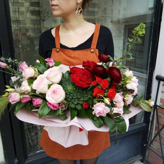 Букет Роковая нежность: букеты цветов на заказ Flowwow
