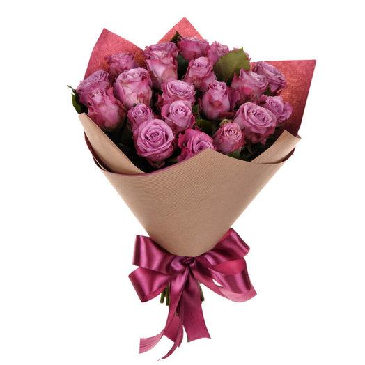 Букет из розы Дип Перпл