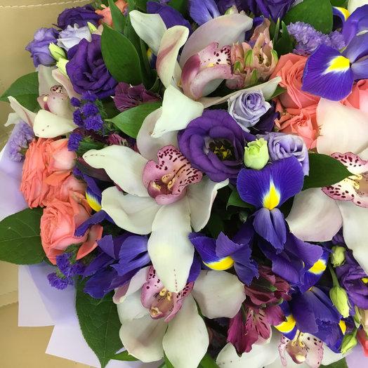 Вайолет: букеты цветов на заказ Flowwow