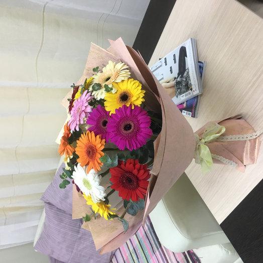 Герберы букет микс: букеты цветов на заказ Flowwow
