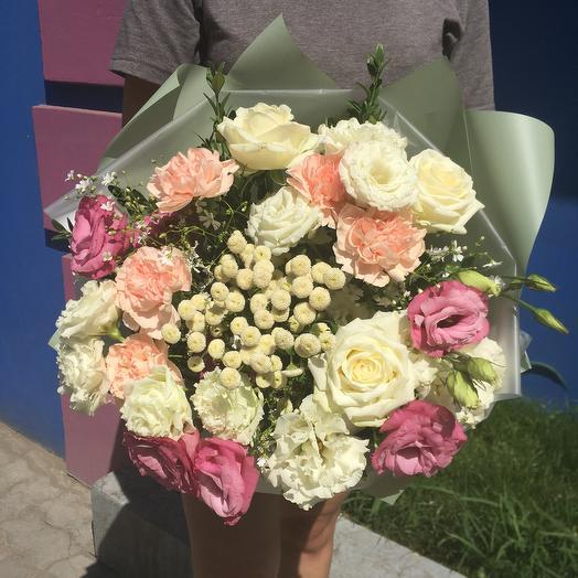 Воздушное очарование: букеты цветов на заказ Flowwow