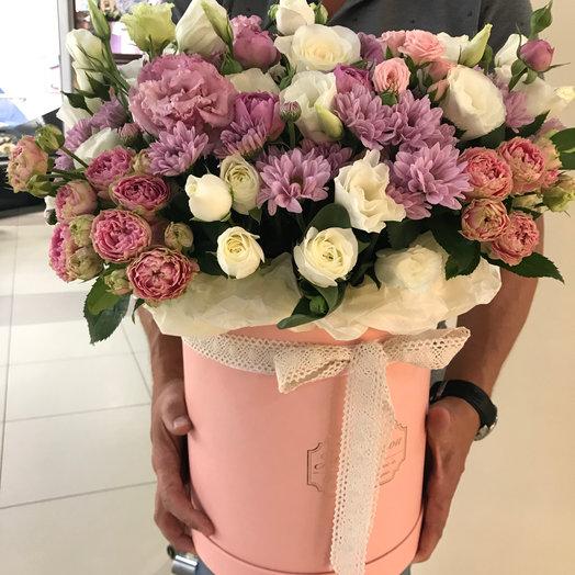 Зефирное настроение: букеты цветов на заказ Flowwow