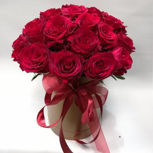 Моно коробочка: букеты цветов на заказ Flowwow