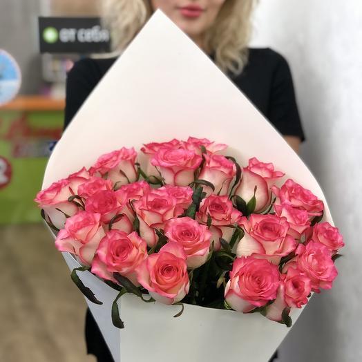 Букет роз Джумилия: букеты цветов на заказ Flowwow