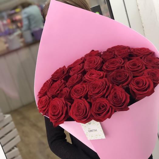 25 роз Влюбленность