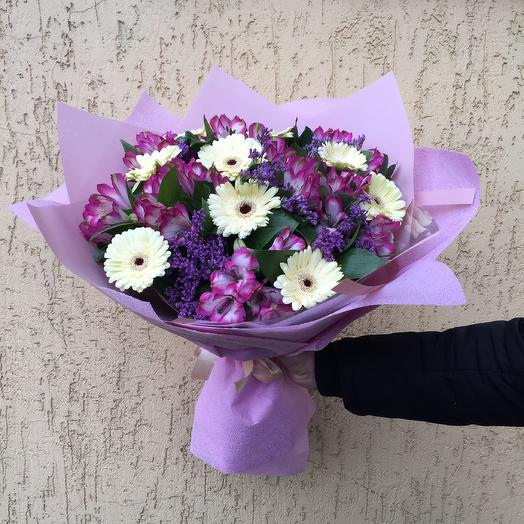 Букет «Романтика»: букеты цветов на заказ Flowwow
