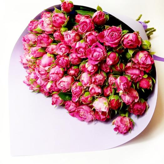 """Lady Bombastic 19"": букеты цветов на заказ Flowwow"