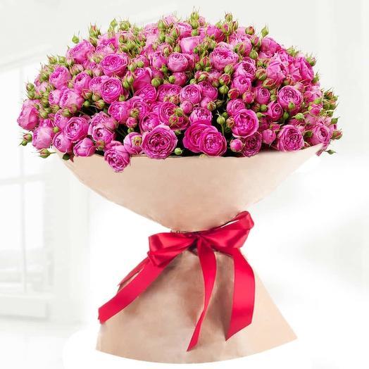 """Lady Bombastic 49"": букеты цветов на заказ Flowwow"