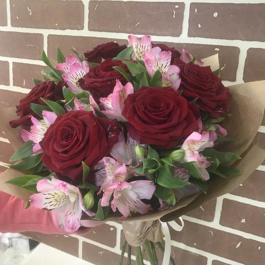 Букет стильный: букеты цветов на заказ Flowwow