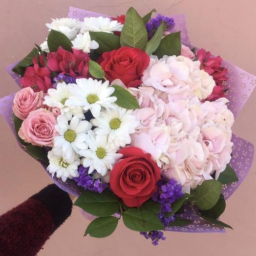Приятный момент: букеты цветов на заказ Flowwow