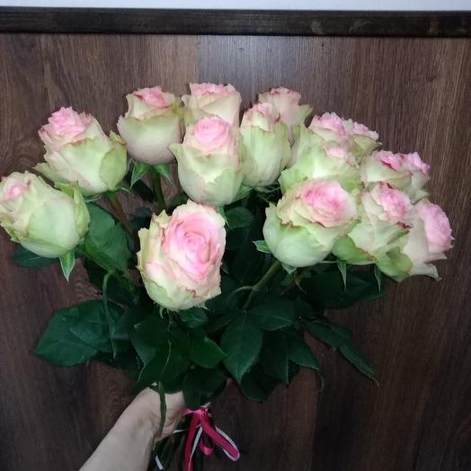 "Роза ""Эсперанса"" в букете: букеты цветов на заказ Flowwow"