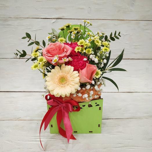 """Цветочный комплимент """"Летний"""": букеты цветов на заказ Flowwow"""