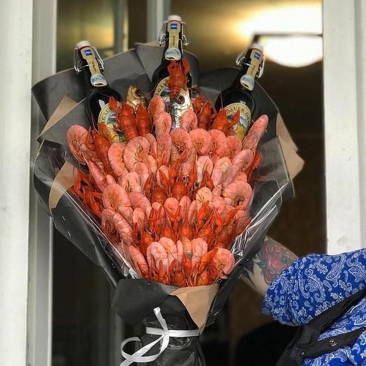 Морские дары: букеты цветов на заказ Flowwow