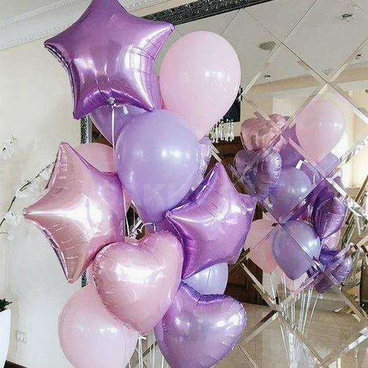 Фонтан Фиолетовые грёзы: букеты цветов на заказ Flowwow
