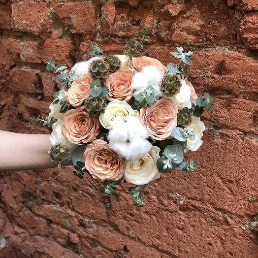 """Букет невесты """"Огненный Шар"""": букеты цветов на заказ Flowwow"""
