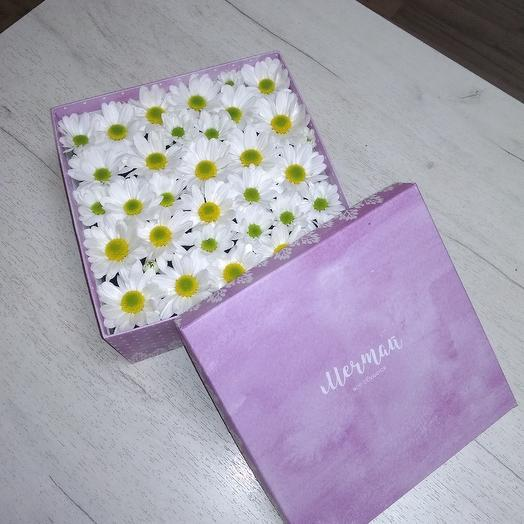 Полянка из ромашек: букеты цветов на заказ Flowwow
