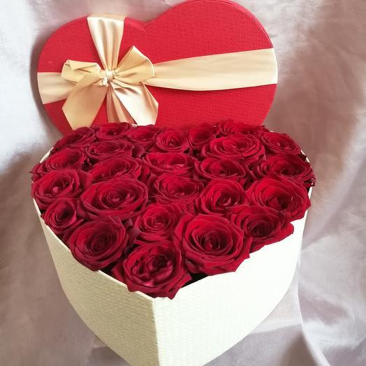 Символ любви 2: букеты цветов на заказ Flowwow