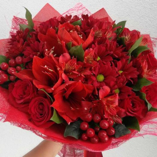 Дама сердца: букеты цветов на заказ Flowwow