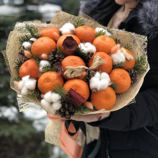 Заводной мандарин: букеты цветов на заказ Flowwow