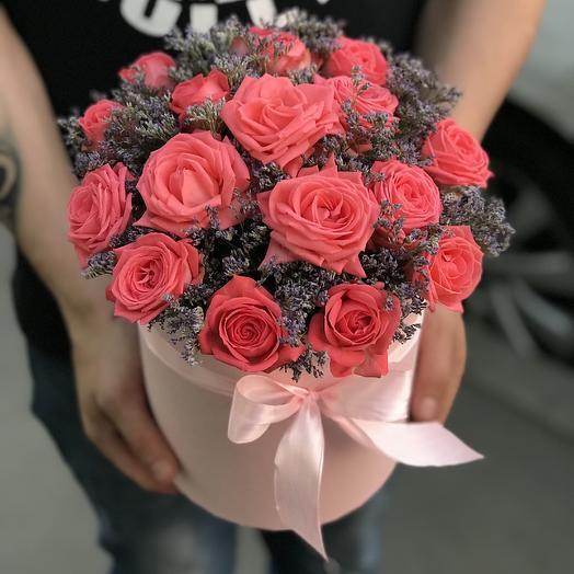 Кустовые розочки Барбадос: букеты цветов на заказ Flowwow