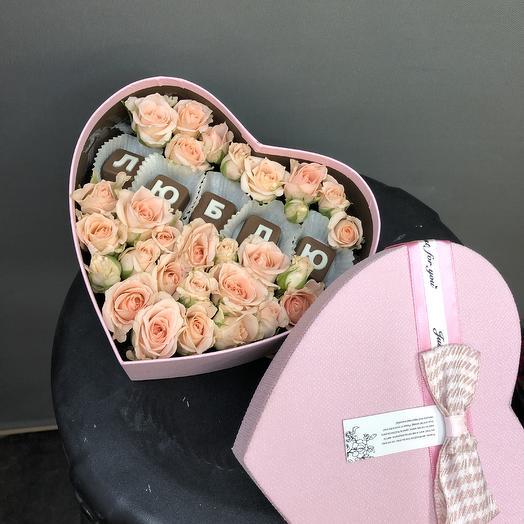 Люблю шоколадки: букеты цветов на заказ Flowwow