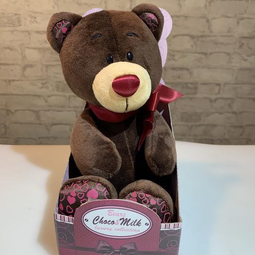 Мягкая игрушка Choco Milk «Медведь»