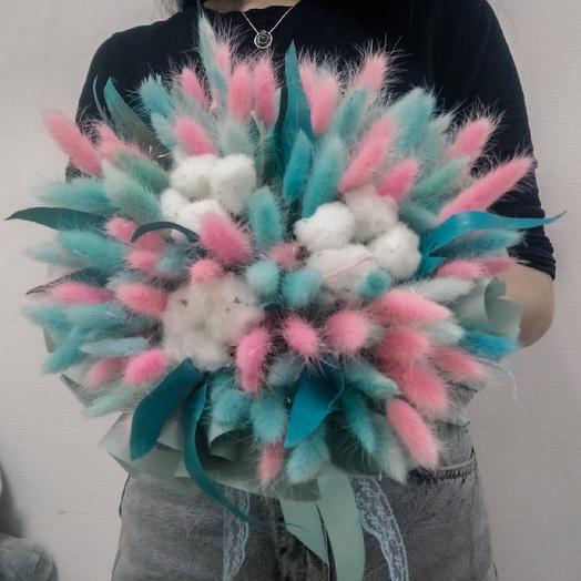Пушистая нежность: букеты цветов на заказ Flowwow