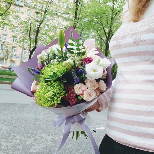 """Букет ДНЯ!!!  """"Впечатление"""": букеты цветов на заказ Flowwow"""